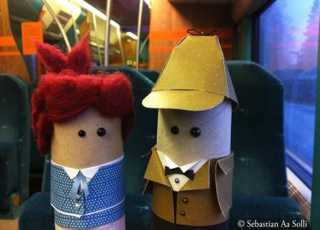 På toget